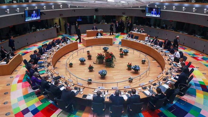 Consejo Europeo de los líderes de la Unión Europea (UE), en Bruselas.