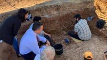 Encuentran más de 5.000 piezas en el yacimiento paleolítico del Sotillo en Malagón
