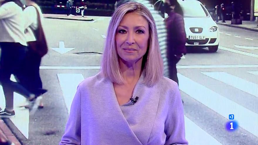 Marisa Rodríguez Palop, en su debut en 'Informe Semanal'