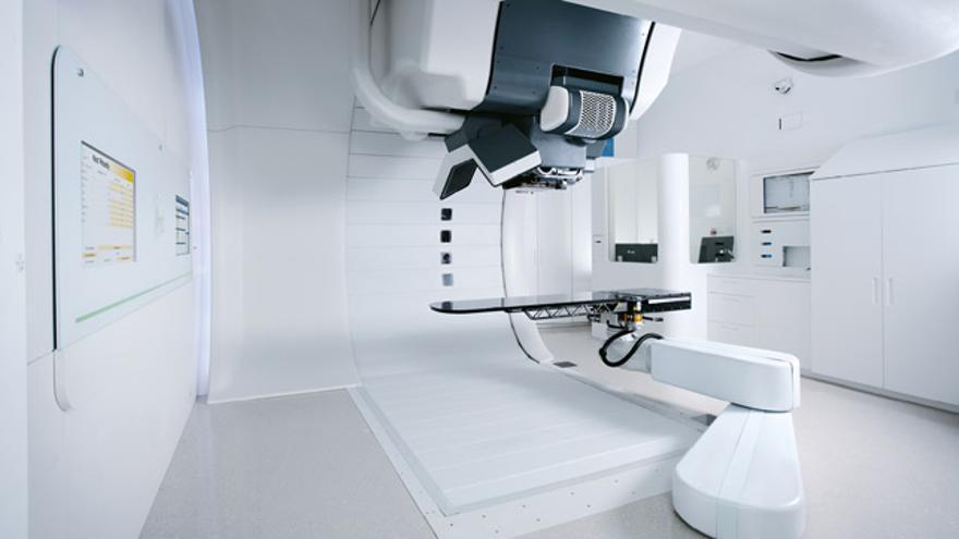 Máquina de protonterapia.