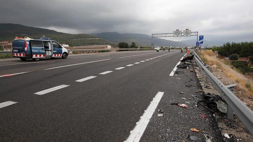 Un hombre y un menor de 14 años mueren en un accidente en Alcover (Tarragona)