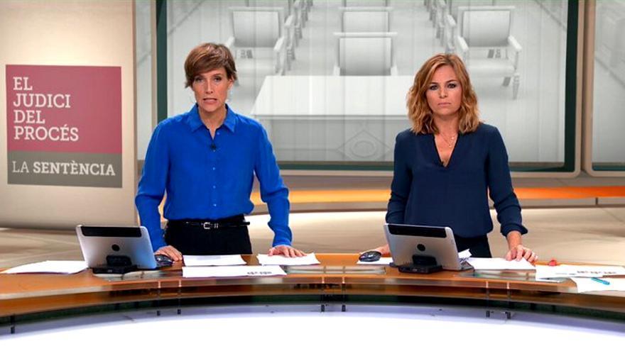 El especial de TV3 tras la sentencia del procés