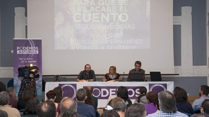"""""""Monedero no se va a ningún sitio, va a seguir acompañando este proceso"""", dice el candidato de Podemos en Asturias"""