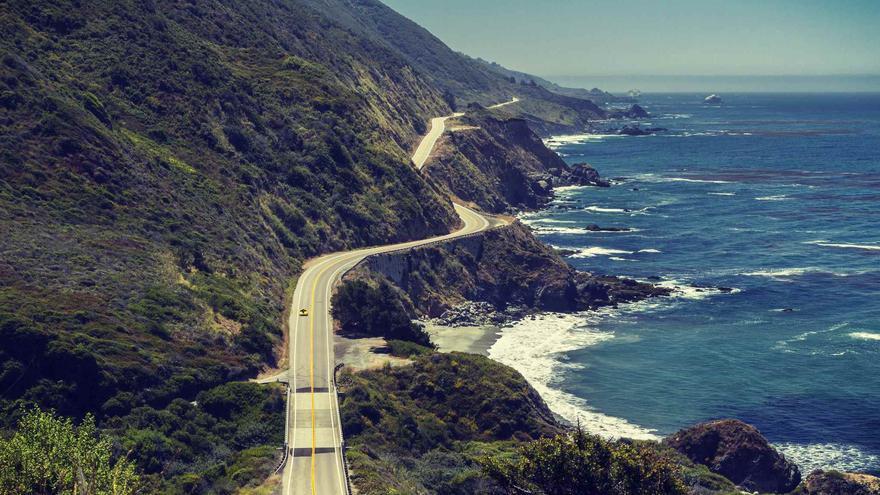 La Ruta 1, a su paso por Big Sur. Foto: Flickr