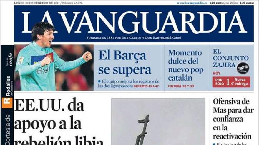De las portadas del día (28/02/2011) #11