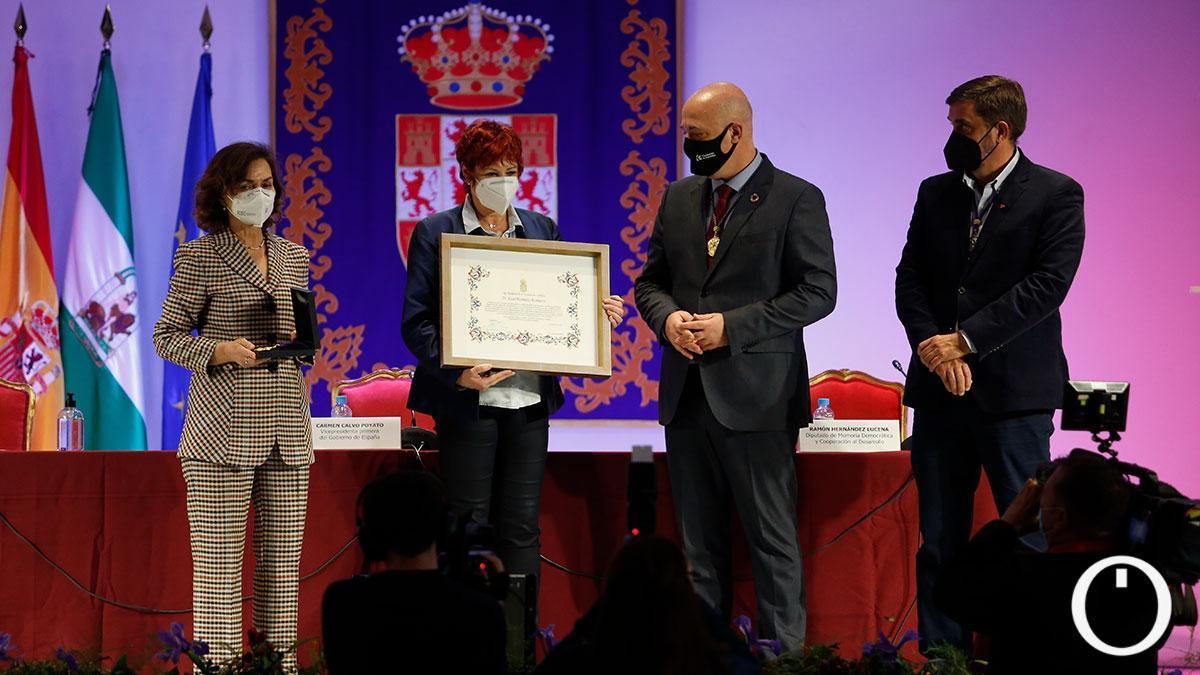 Homenaje como Hijo Predilecto de la Provincia a Juan Romero