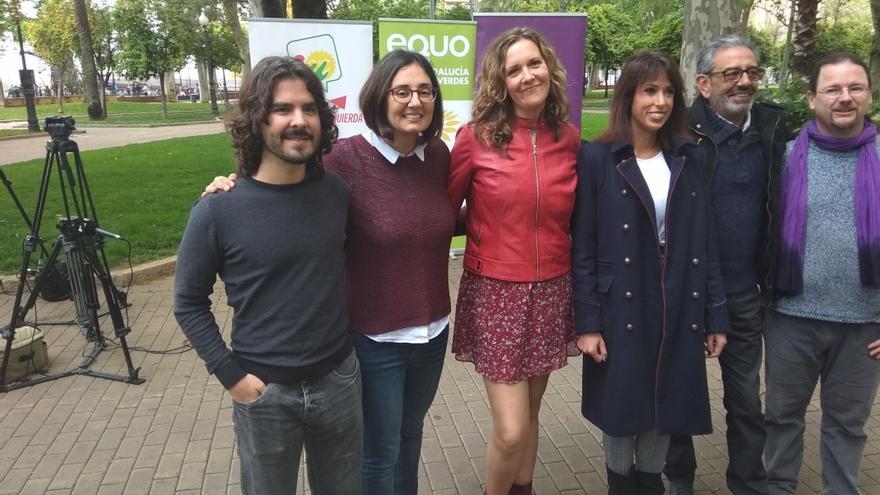 Candidatura de Unidas Podemos para el 28A en Córdoba.