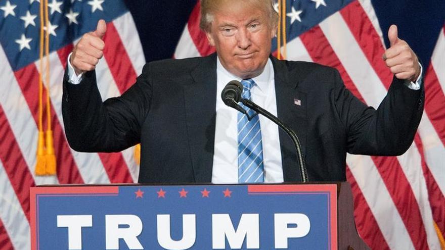 """Trump dice que mostró a Peña su """"profundo respeto"""" por los mexicanos estadounidenses"""