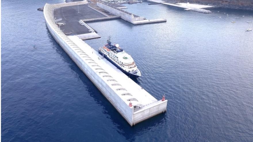 Imagen del Puerto de Tazacorte.