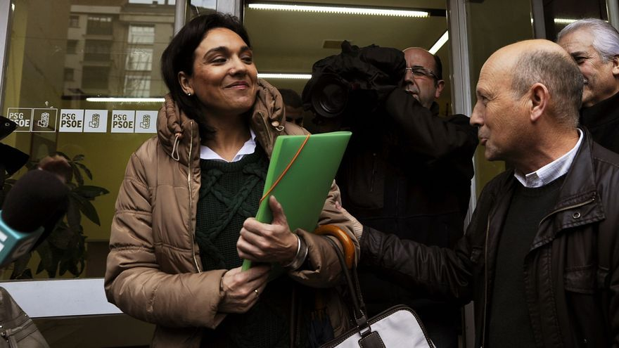Los cinco socialistas críticos de Ourense se coordinan para alegar ante Ferraz por la suspensión cautelar de militancia