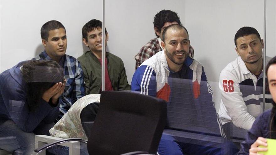 Los acusados de la célula yihadista arrepentidos aceptan de 3 a 7 años de cárcel
