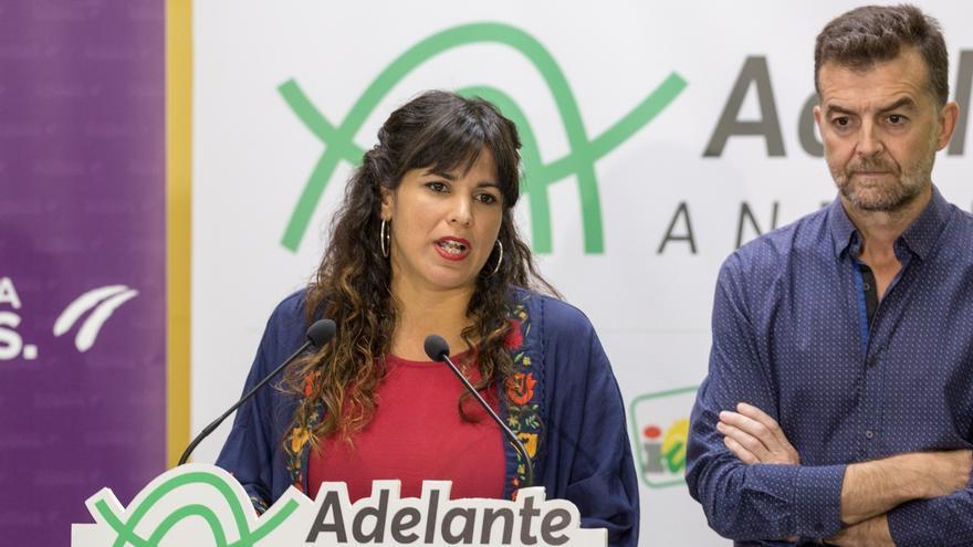 Teresa Rodríguez descarta dimitir y asegura que Adelante no votará ni facilitará una investidura de Ciudadanos