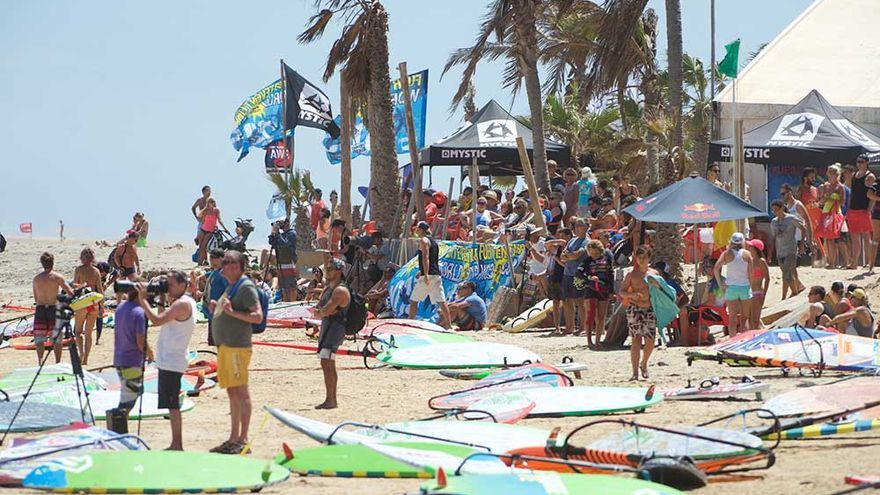 Campeonato Mundial de Windsurfing y Kiteboarding de Fuerteventura.