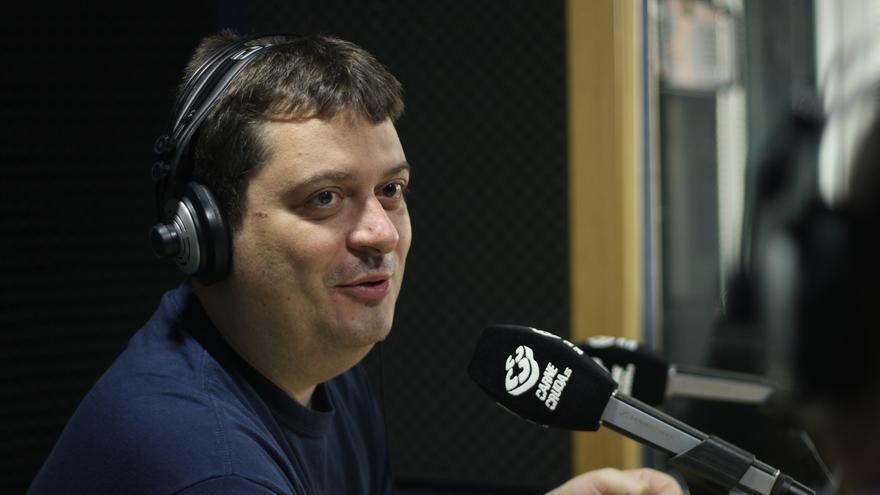 Manuel Bartual en Carne Cruda