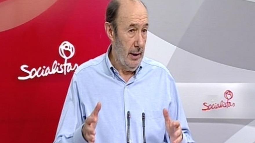 Rubalcaba dice que las europeas son las más importantes que ha vivido nunca España porque está en juego la recuperación