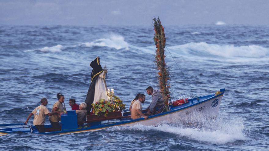 Embarcación de San Telmo, en Puerto de la Cruz