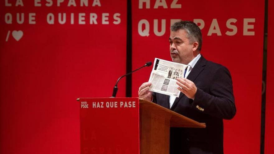 """NA+ demandará a Cerdán (PSOE) por llamar """"fascista"""" a un parlamentario"""
