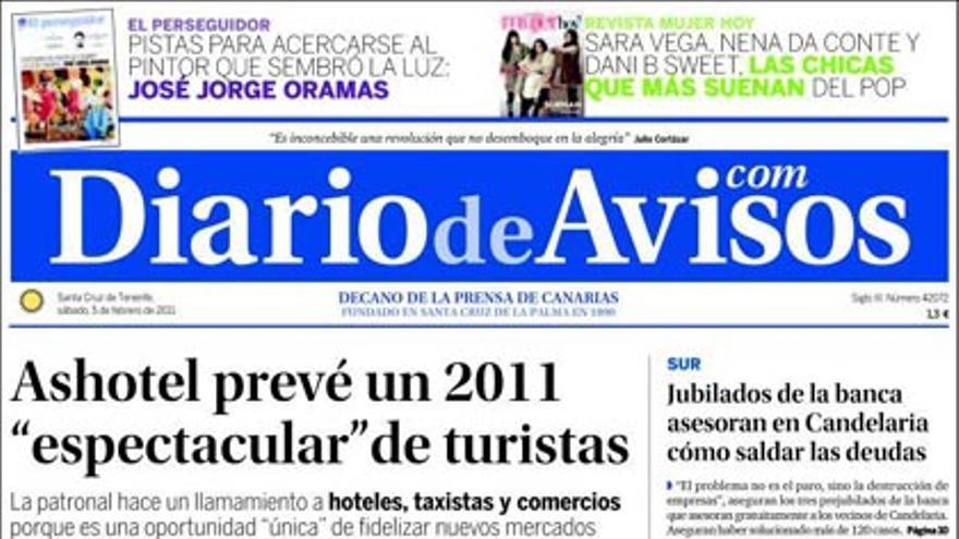 De las portadas del día (05/02/2011) #4