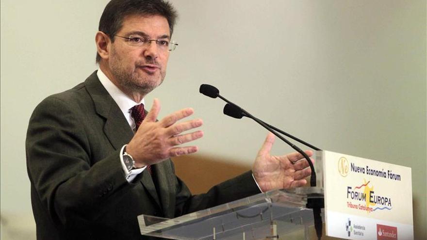 El PSOE pide que Lesmes y Catalá expliquen la queja del Supremo por injerencias