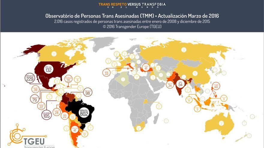 mapa trans asesinatos