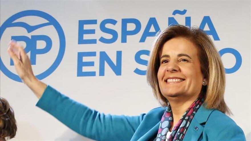 """Báñez pide 4 años más de """"estabilidad"""" para hacer reformas y crear empleo"""