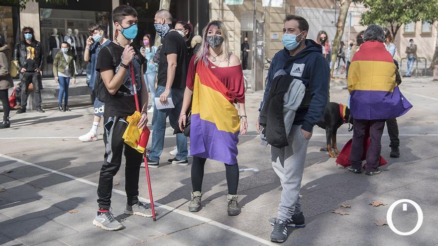 Concentracion en Córdoba para pedir la liberacón de Pablo Hasel