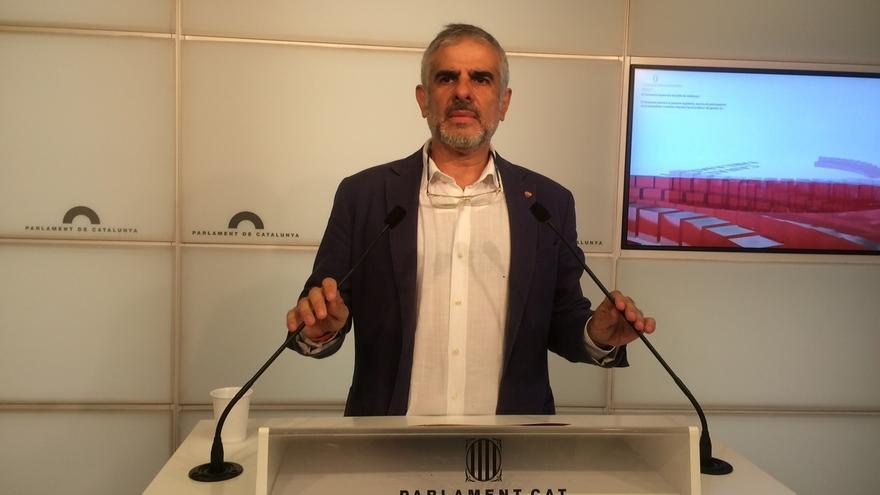 Carlos Carrizosa, portavoz de Ciudadanos en el Parlament de Catalunya