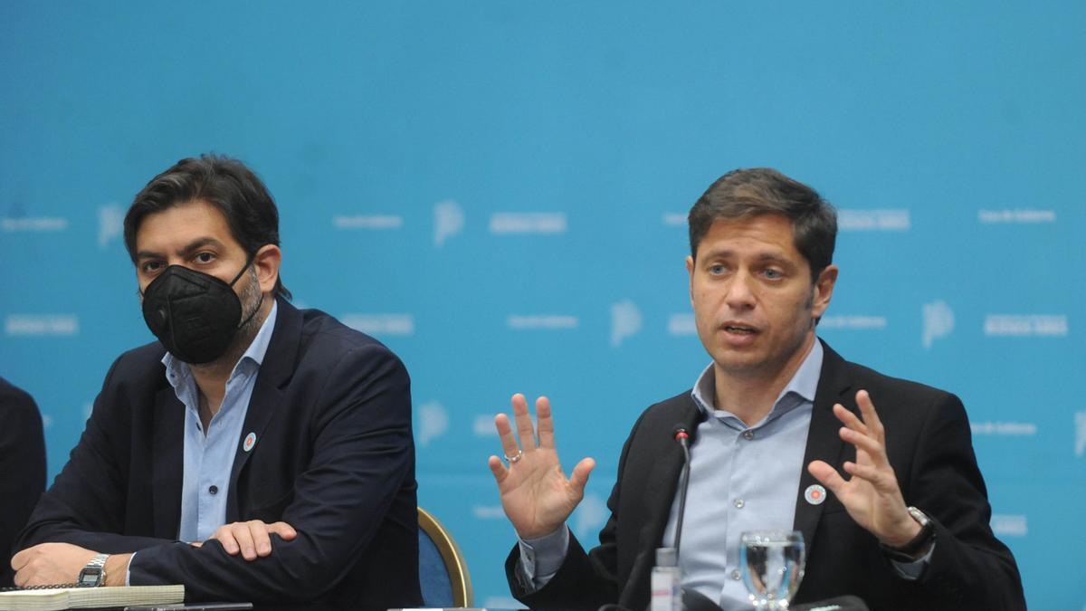 Kicillof anunció segunda dosis libre para mayores de 50 años en la provincia de Buenos Aires.