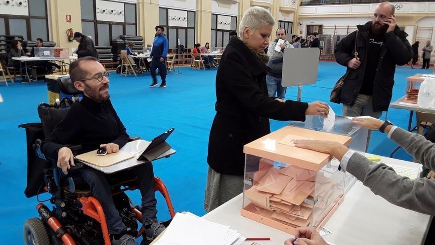 """Echenique (Unidas Podemos) tiende la mano al PSOE: """"Lo que antes era una oportunidad, ahora es una necesidad"""""""