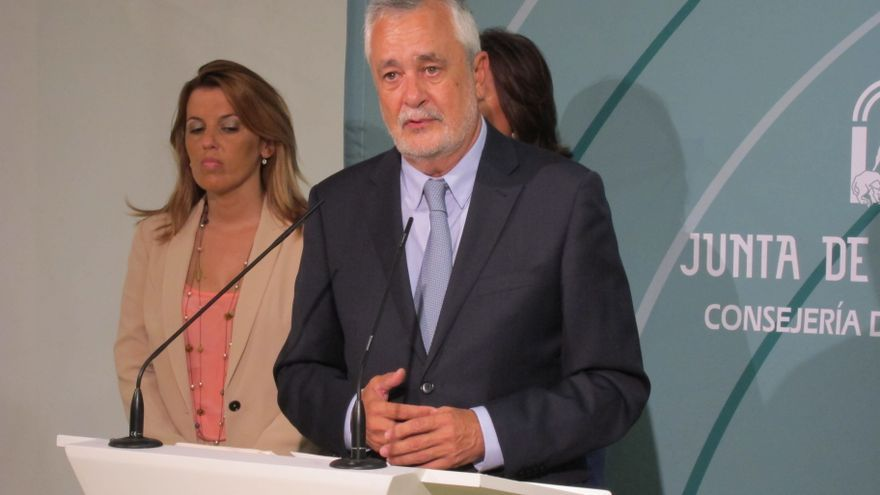 """Griñán aboga por una oposición """"en positivo"""" como la propuesta de reforma fiscal y no ve oportuno un referéndum"""