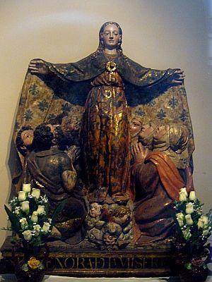 Virgen de la Misericordia | Foto: A.P