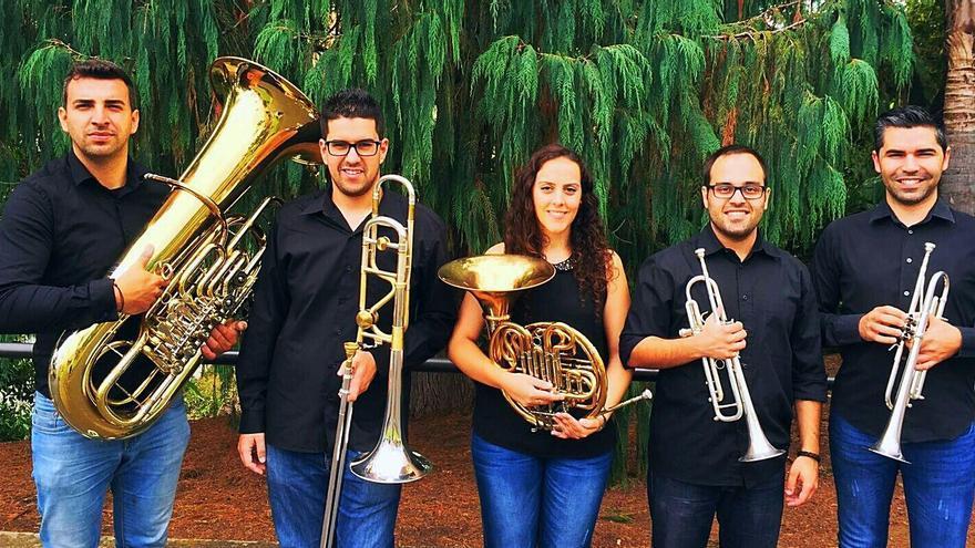 Vulcano Brass Quintet.