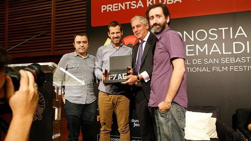 La película Loreak recibe el I Premio EZAE en el 63 Festival de Cine de San Sebastián