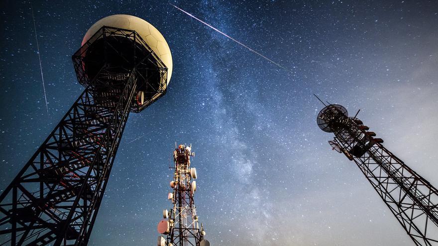 Imagen de las Perseidas, la gran lluvia de estrellas de agosto. Andrés Nieto Porras
