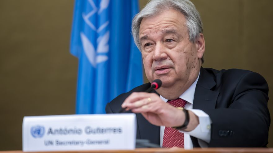 Guterres abordará Afganistán con países permanentes del Consejo de Seguridad