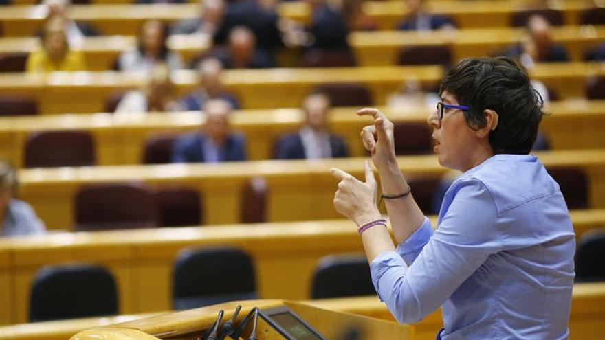 Podemos, PNV, ERC y PDeCAT, dispuestos a la comisión que pide el PP en Senado