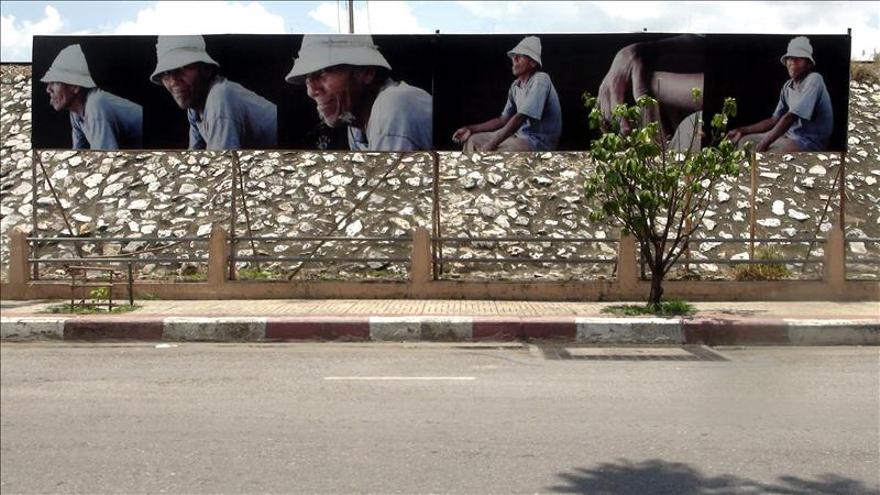 Los obreros toman las calles de Tailandia con una muestra fotográfica