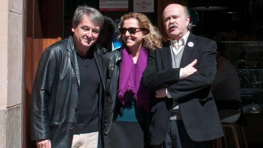 Toni Benavent, Mariangeles Fayos y Josep Lluís Sirera