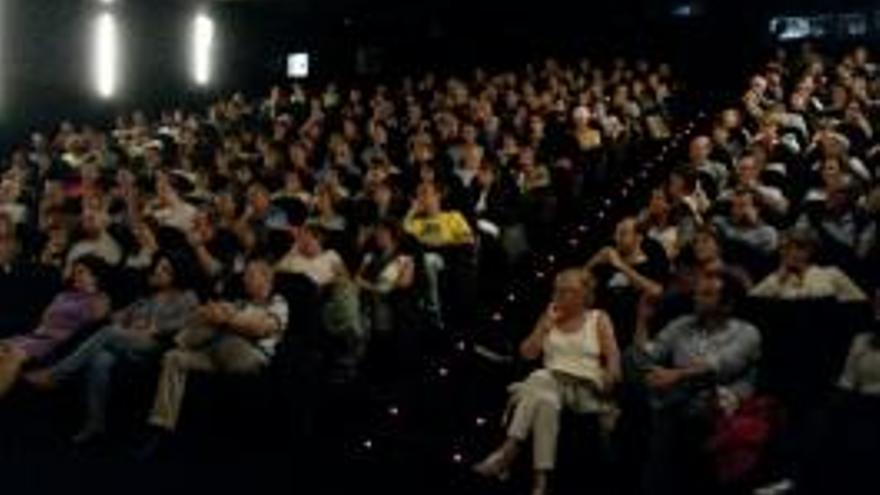 La sala de cine de Tabakalera durante la sesión de inauguración / FOTO: tabakalera.eu