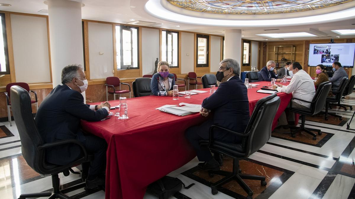 Consejo de Gobierno de Canarias celebrado este lunes, 1 de marzo.