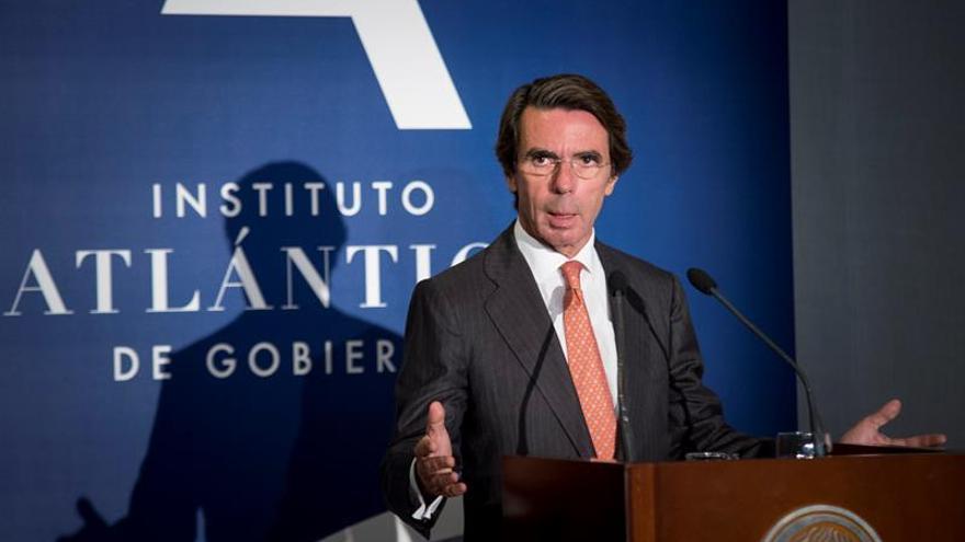 Aznar lamenta que Barberá haya fallecido habiendo sido excluida del PP