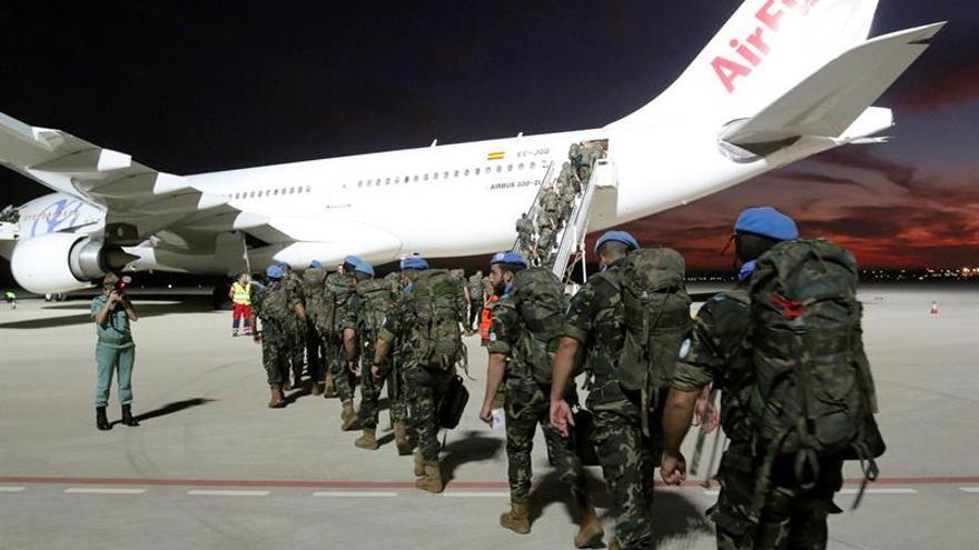 Un contingente español se suma a la Misión de verificación de la ONU en Colombia