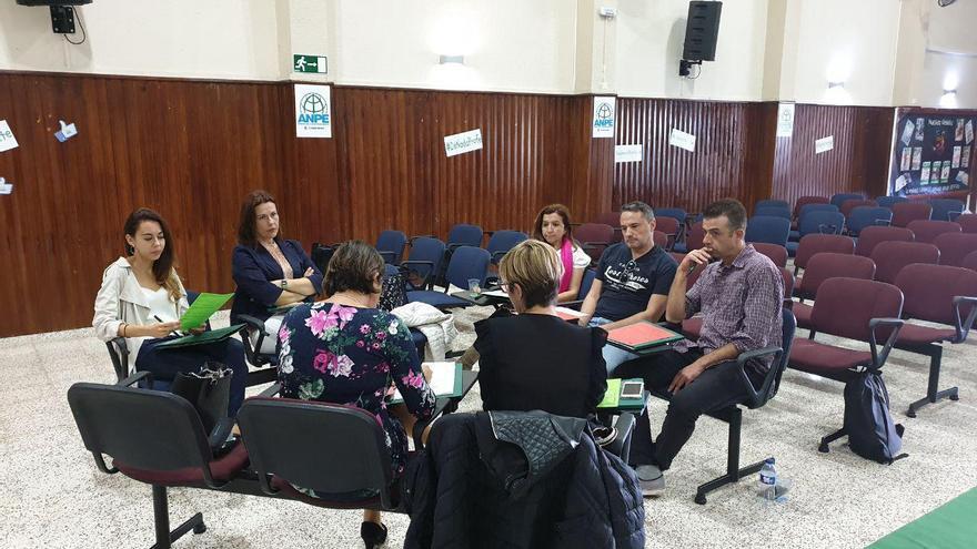 Reunión del consejo provincial de ANPE en Santa Cruz de Tenerife