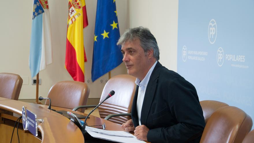 Pedro Puy, portavoz del PP en el Parlamento de Galicia