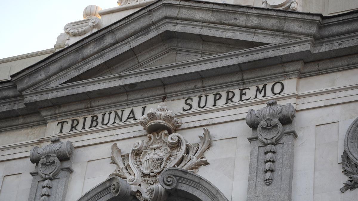 Fachada del Tribunal Supremo. EFE/Javier Lizón/Archivo