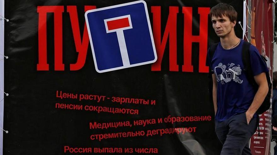 La campaña electoral rusa apura sus últimos cartuchos con Putin de convidado