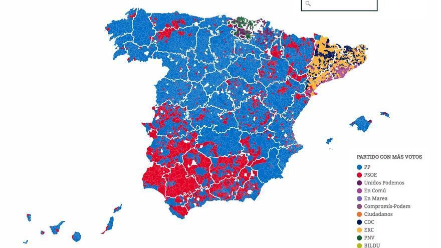 REsultado electoral 26J
