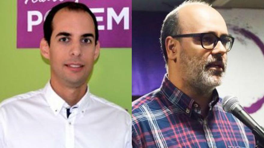 Miguel Montero y Juan Manuel Brito.