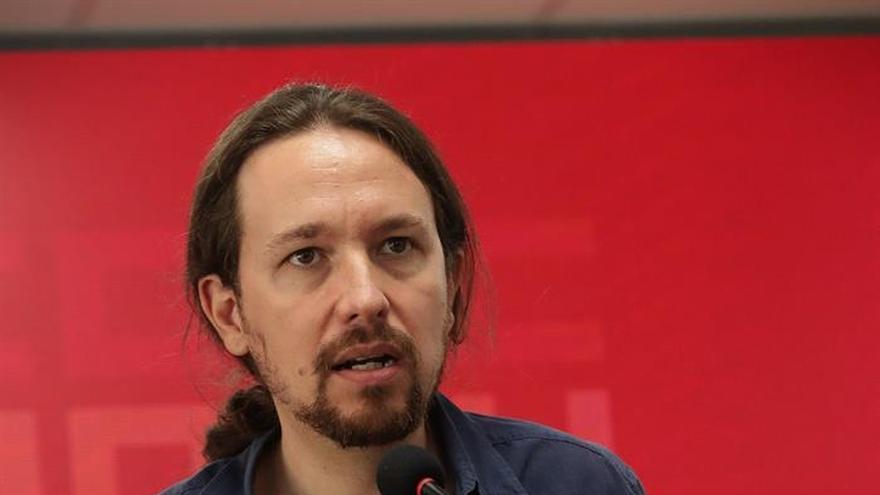 """Iglesias: """"No hay que descartar medidas represivas del Gobierno en Cataluña"""""""