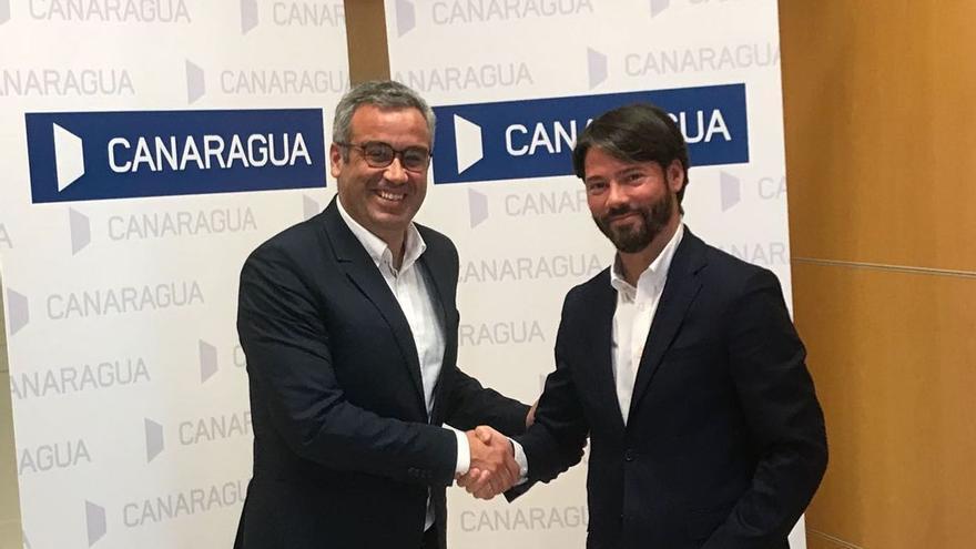 Firma del acuerdo entre la capital y Canaragua.